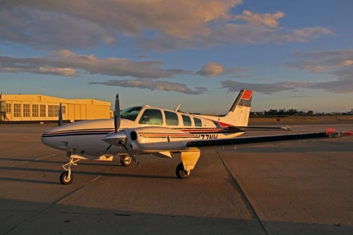 1981 Beechcraft Baron 58TC for sale